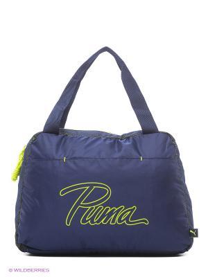 Сумка PUMA Core Grip Bag. Цвет: синий