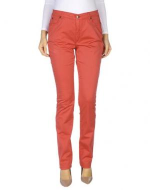 Повседневные брюки ANGELO MARANI. Цвет: красный