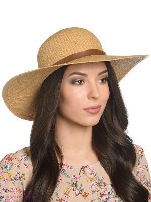 Шляпа Canoe. Цвет: темно-бежевый