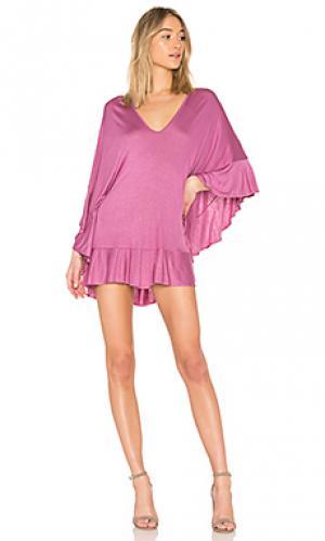 Платье naomi Riller & Fount. Цвет: фиолетовый