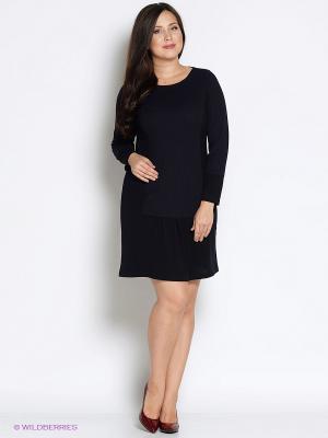 Платье Битис. Цвет: черный, темно-синий