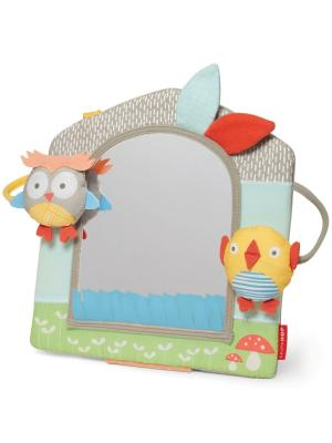 Развивающая игрушка Домик-зеркальце SkipHop. Цвет: зеленый, голубой, желтый