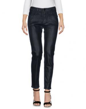 Джинсовые брюки AARCC. Цвет: черный