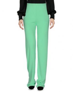 Повседневные брюки MARIA DI RIPABIANCA. Цвет: светло-зеленый