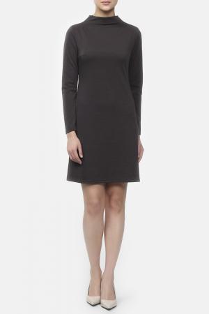 Платье M&L Collection. Цвет: серый