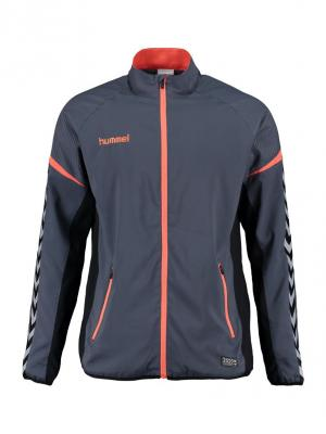 Толстовка AUTHENTIC CHARGE MICRO ZIP JACKET HUMMEL. Цвет: синий