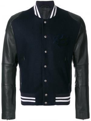 Куртка-бомбер Leddy Teddy Zadig & Voltaire. Цвет: синий
