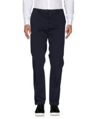 Повседневные брюки SEVENTY by SERGIO TEGON. Цвет: темно-синий