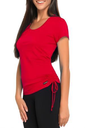 T-Shirt GWINNER. Цвет: red