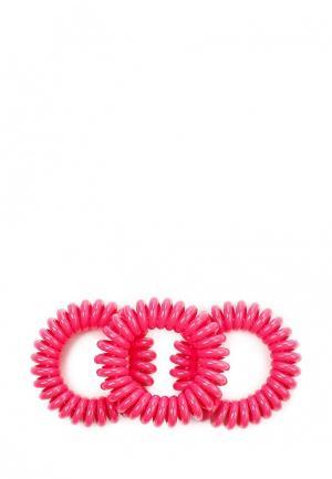 Комплект резинок 3 шт. invisibobble. Цвет: розовый