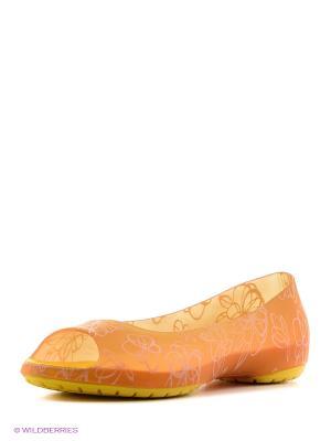 Балетки Effa. Цвет: оранжевый
