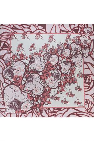 Платок Labbra. Цвет: красный