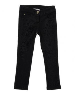 Джинсовые брюки LES PARROTINES. Цвет: черный