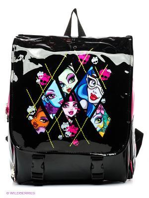 Рюкзак Monster High Lattice Mattel. Цвет: черный, розовый