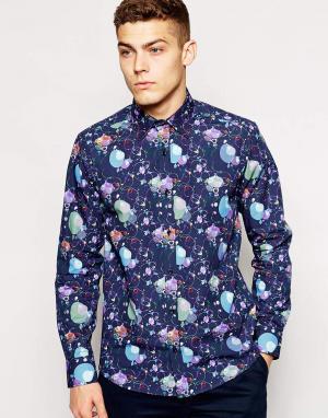 Guide London Узкая рубашка с пузырями