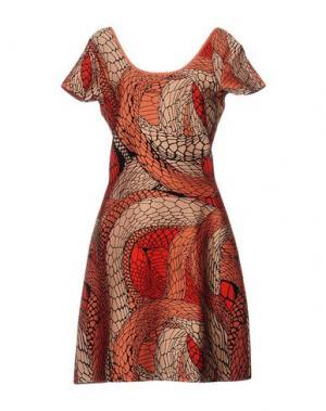 Короткое платье ISSA. Цвет: оранжевый