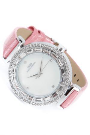 Часы на ремне IBSO. Цвет: серебристый, розовый