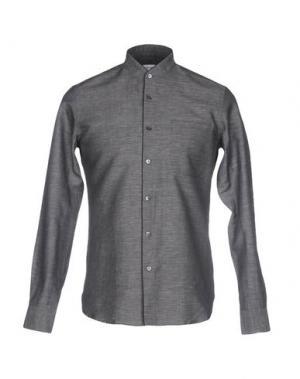 Pубашка MAURO GRIFONI. Цвет: стальной серый