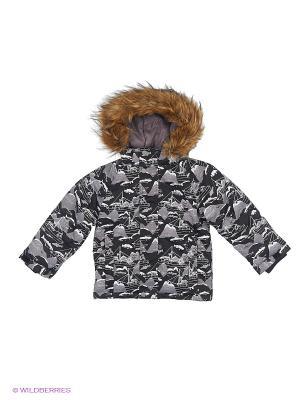 Куртка REIKE. Цвет: черный, серый