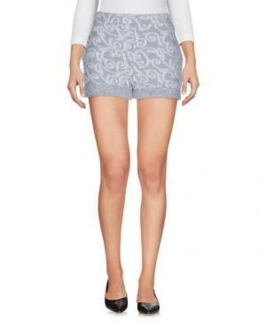 Повседневные шорты JIJIL. Цвет: серый