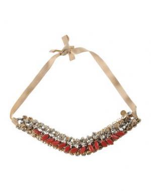 Ожерелье NUR DONATELLA LUCCHI. Цвет: бежевый
