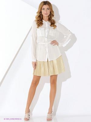 Блуза Malvin. Цвет: белый