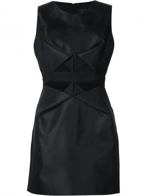 Платье с вырезными деталями Iris Van Herpen. Цвет: чёрный