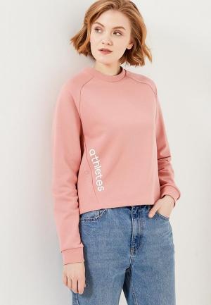 Свитшот Anta. Цвет: розовый