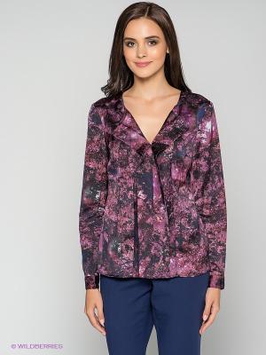 Блузка MEXX. Цвет: фиолетовый, темно-синий