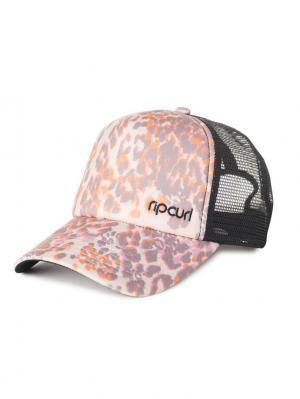 Кепка  COMBINED TRUCKA CAP Rip Curl. Цвет: серый, персиковый, розовый
