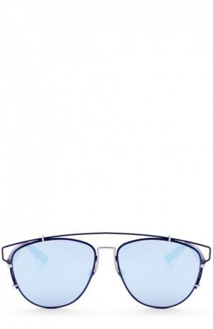 Солнцезащитные очки Dior. Цвет: темно-синий