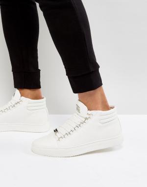 Glorious Gangsta Белые высокие кроссовки Paris. Цвет: белый