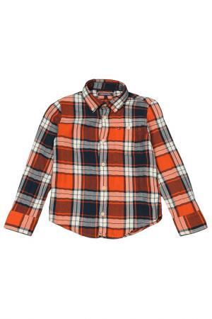 Сорочка Tommy Hilfiger. Цвет: оранжевый