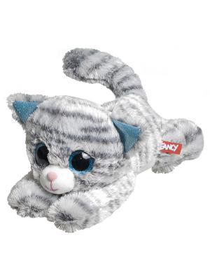 Кот глазастик Fancy. Цвет: серый
