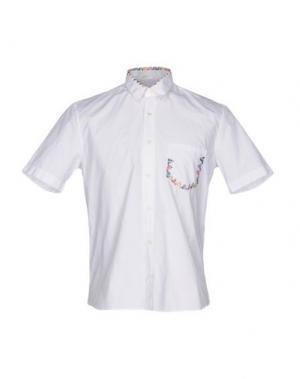 Pубашка JIMI ROOS. Цвет: белый