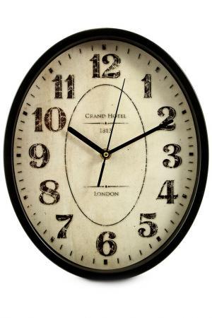 Часы настенные 30х25х5 см Русские подарки. Цвет: белый, черный, коричневый
