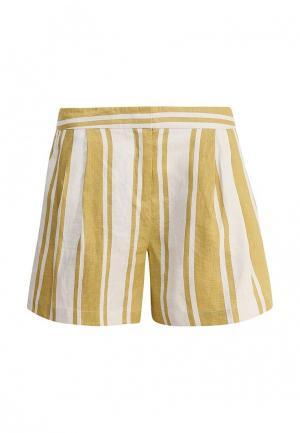Шорты Max&Co. Цвет: желтый