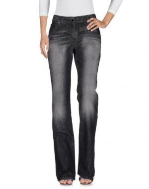 Джинсовые брюки HUSKY. Цвет: черный