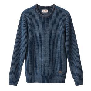 Пуловер крупной вязки PETROL INDUSTRIES. Цвет: красный/ бордовый,синий