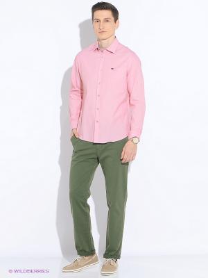 Рубашка Delahaye. Цвет: розовый