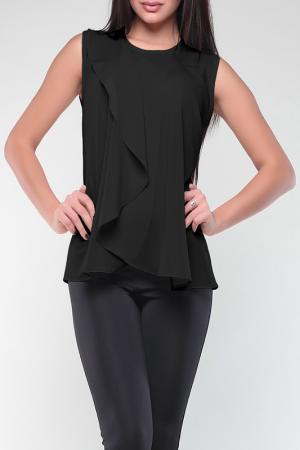 Блуза REBECCA TATTI. Цвет: черный