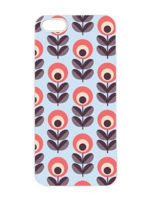 Чехол для iPhone 5/5s Клюква Арт. IP5-067 Chocopony. Цвет: голубой, черный