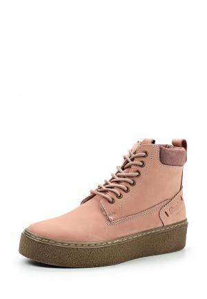 Ботинки Wrangler. Цвет: розовый