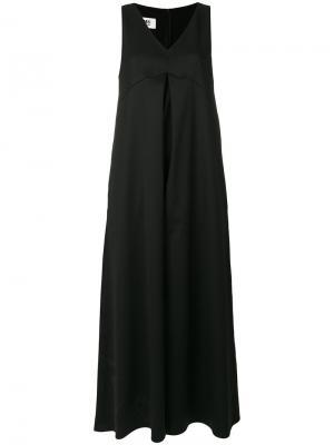 Комбинезон с широкими штанинами Mm6 Maison Margiela. Цвет: чёрный