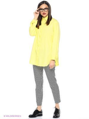 Рубашка L'Anu de Meri. Цвет: желтый