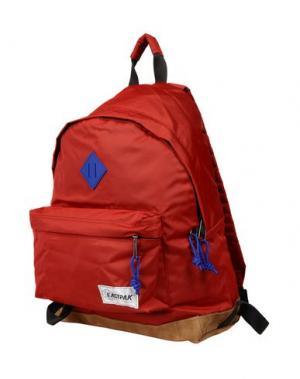 Рюкзаки и сумки на пояс EASTPAK. Цвет: кирпично-красный