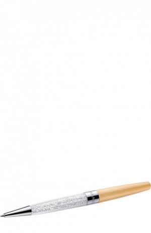 Шариковая ручка Crystalline Stardust Swarovski. Цвет: бежевый