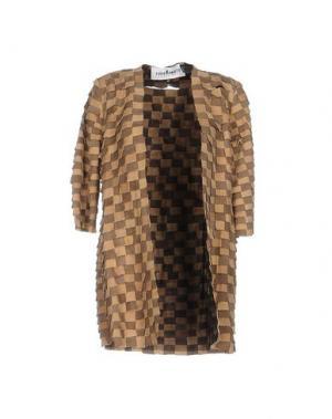 Легкое пальто CABAN ROMANTIC. Цвет: бежевый