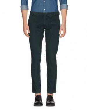 Повседневные брюки GABARDINE. Цвет: темно-зеленый