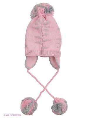 Шапка Achti. Цвет: бледно-розовый, розовый, сиреневый